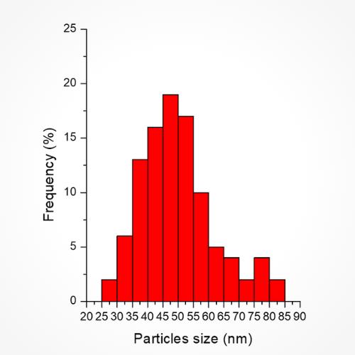 Gold Nanoflowers 50nm - Graph 2
