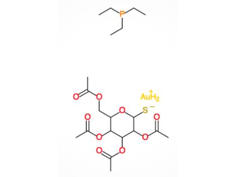 Chemical formula of Auranofin