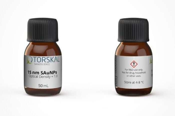 Spherical Gold Nanoparticles_Product page (Image 3) - TORSKAL